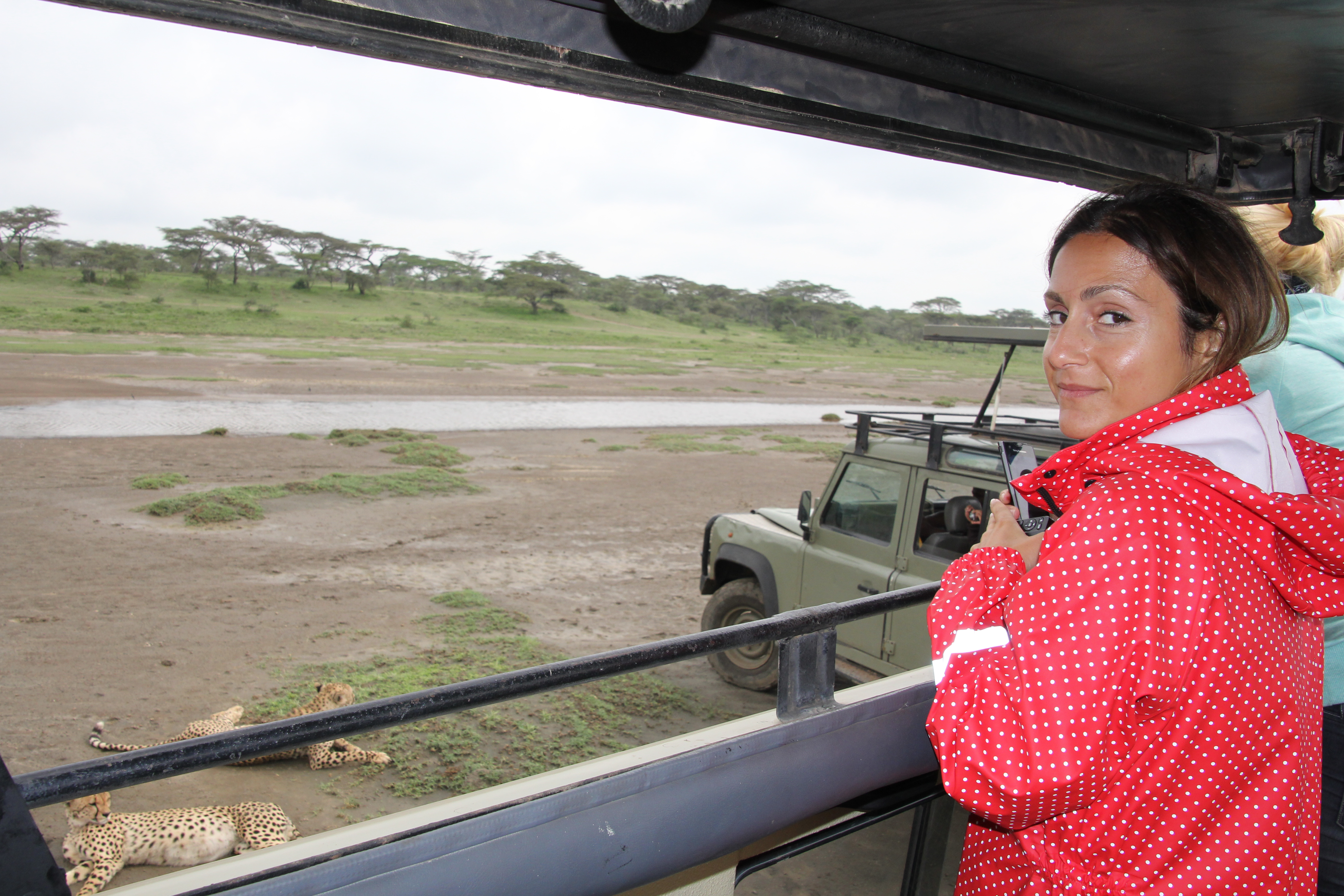 Sarineh on safari february