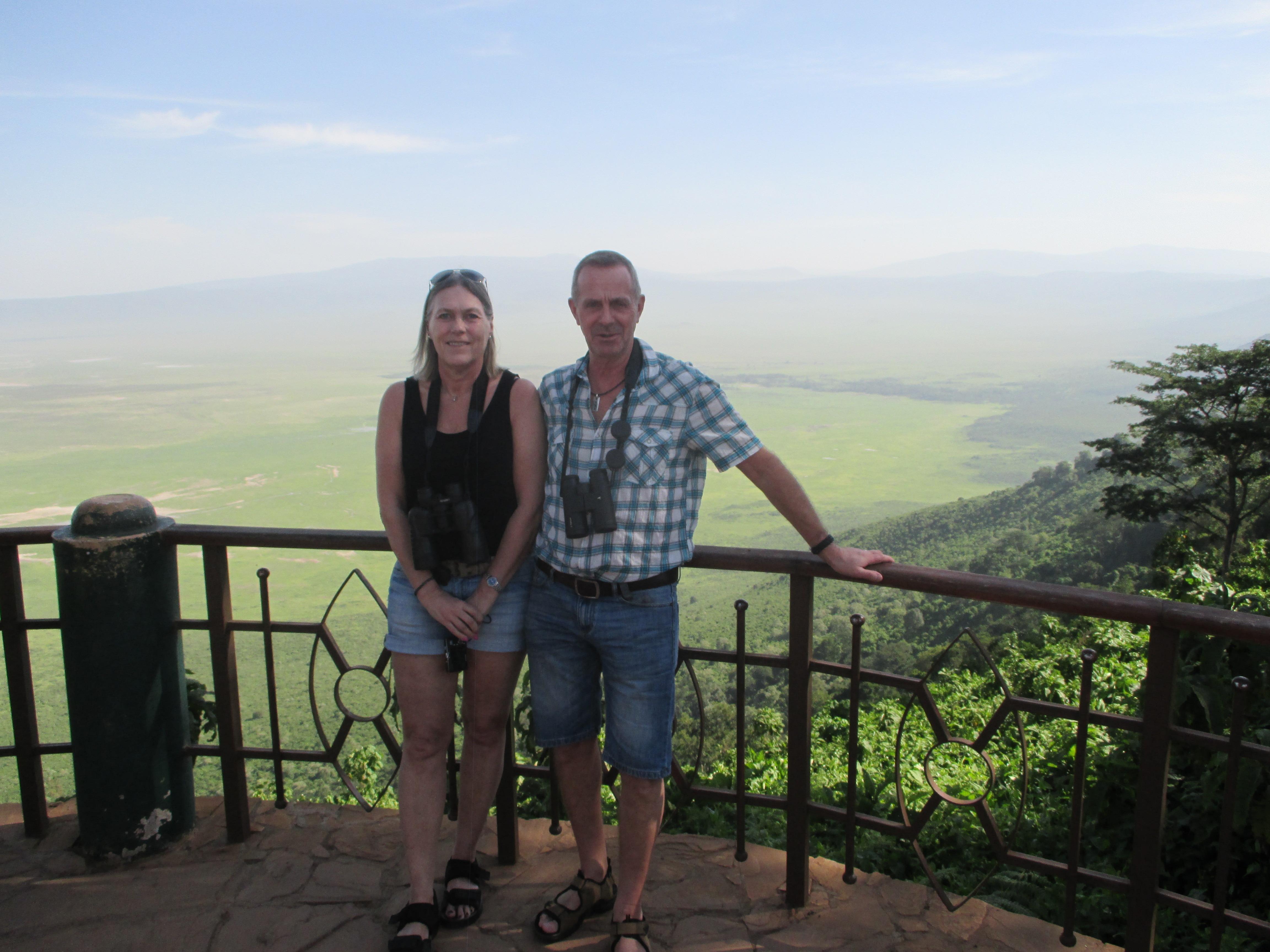 Ancie & Göran on safari 2016